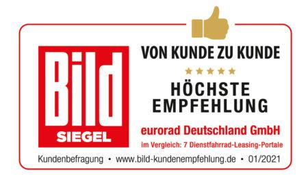 BILD_Siegel_Kunde_zu_Kunde_Höchste Empfehlung_eurorad.de